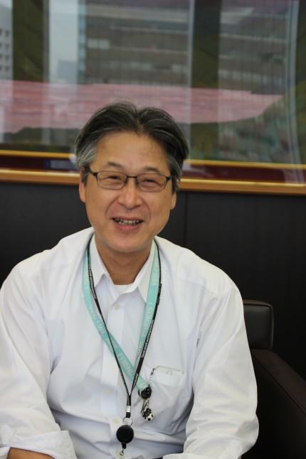 中村浩人ゴム事業部長