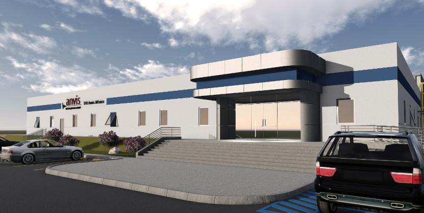 新工場の概観(イメージ)