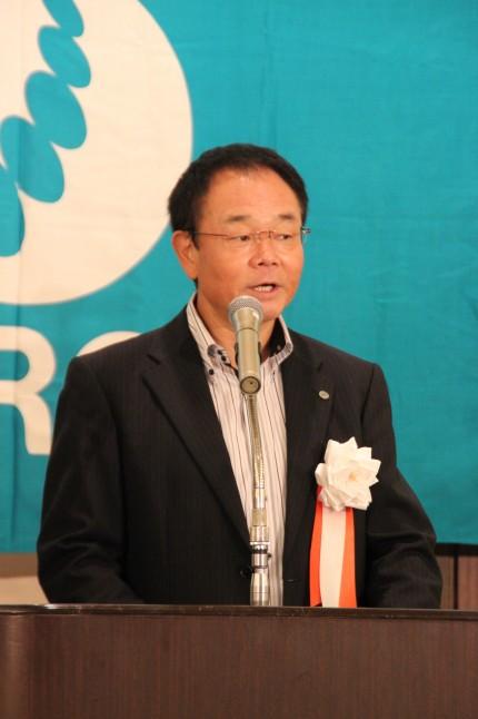 主催者代表挨拶を行った山本委員長