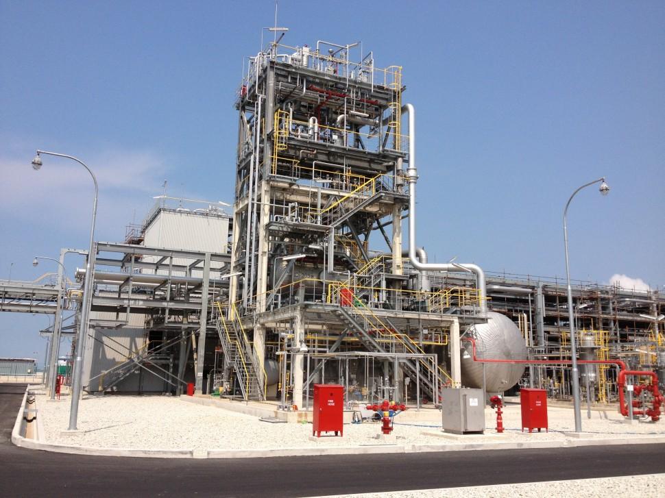 20140929 住友化学 シンガポール工場