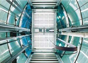 エレベーターの吸音対策に採用されたバソテクト