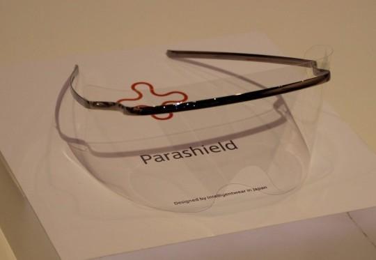 医療現場の感染対策を強化する「パラシールド」
