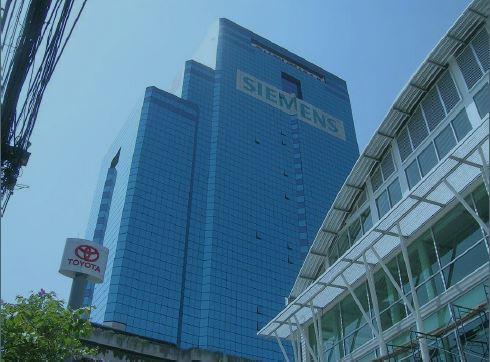 タイの新会社が入っているイサラタワーⅡ