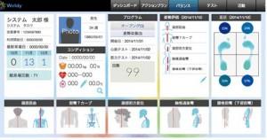 バランス測定画面イメージ
