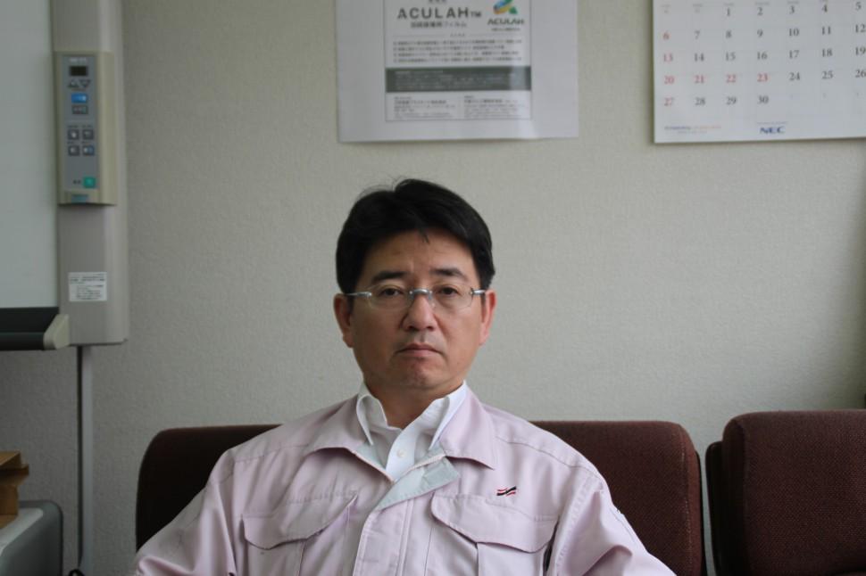 今後の事業戦略について語る中島社長