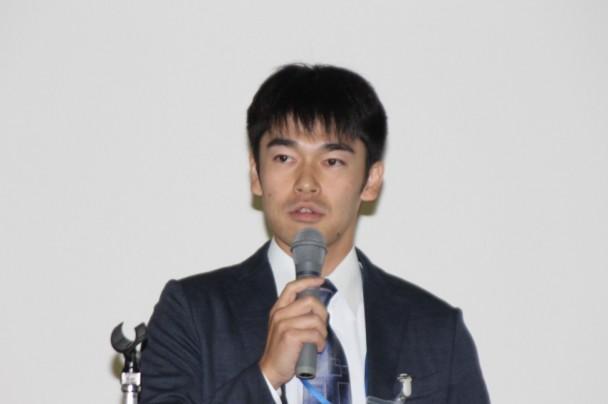 配合設計支援システムMDSSを説明する日本システム開発の古川氏