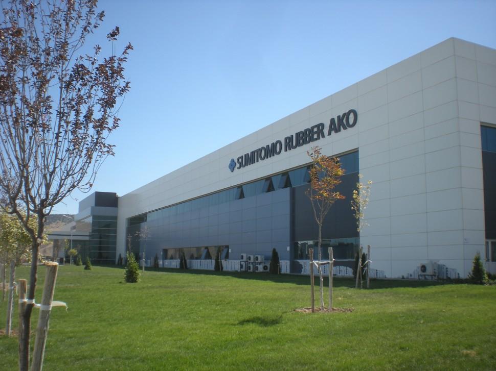 トルコ工場工場建屋