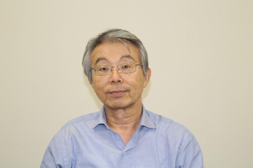 現況を述べる福永社長