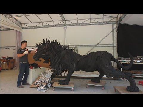 【動画】[タイヤから生まれたライオン] メイキング映像:TOYO TIRES