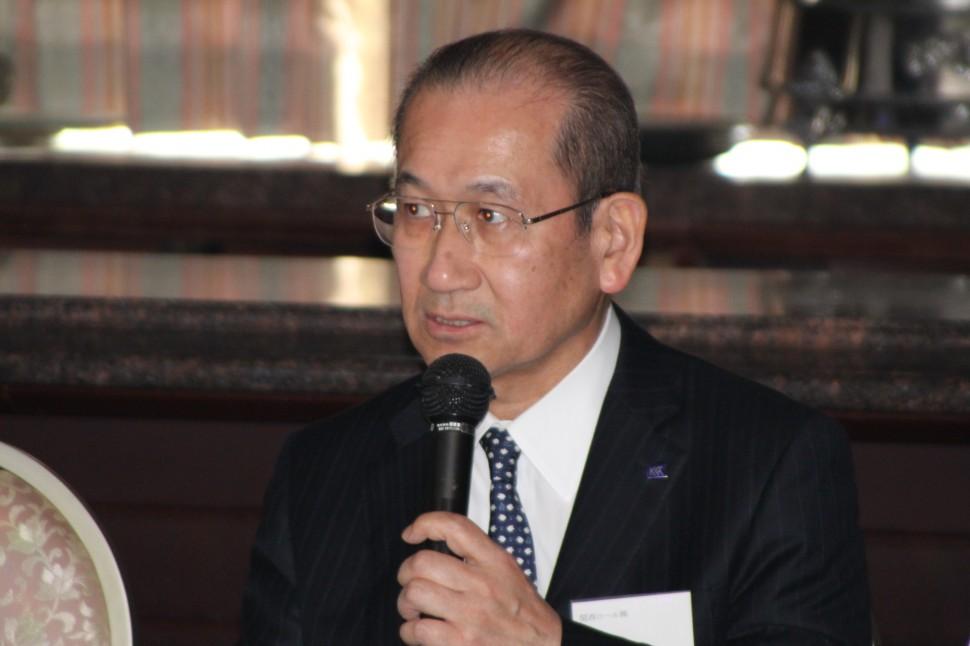 「品質が高い製品を世界に提供したい」と述べる髙木会長