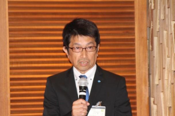タイヤ国内リプレイス営業本部山平篤技術サービス部長