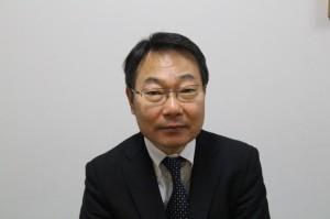 国内外の事業戦略を語る千田事業部長