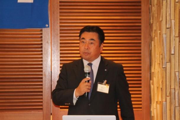 タイヤ国内リプレイス営業本部増田栄一副本部長