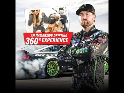 【動画】ニットータイヤ Ride Along with Vaughn Gittin Jr in this 360 Virtual Reality Drifting Experience