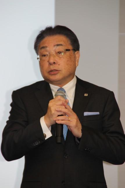 津谷正明CEO