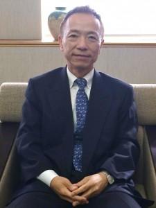 日本ゴム協会会長中瀬古広三郎氏