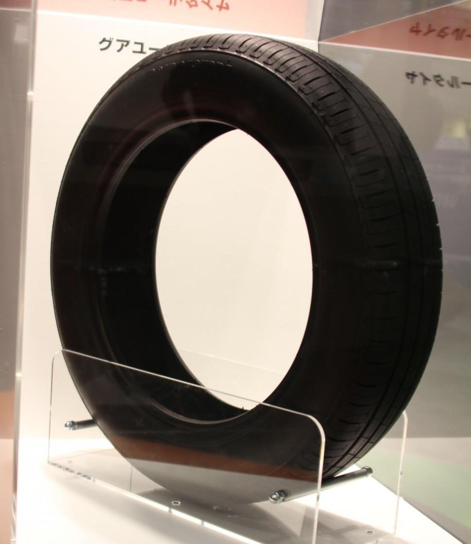 「グアユール」由来の天然ゴムを使用したタイヤ