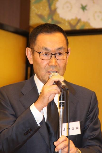 人材確保の重要性を説く祖父江理事長