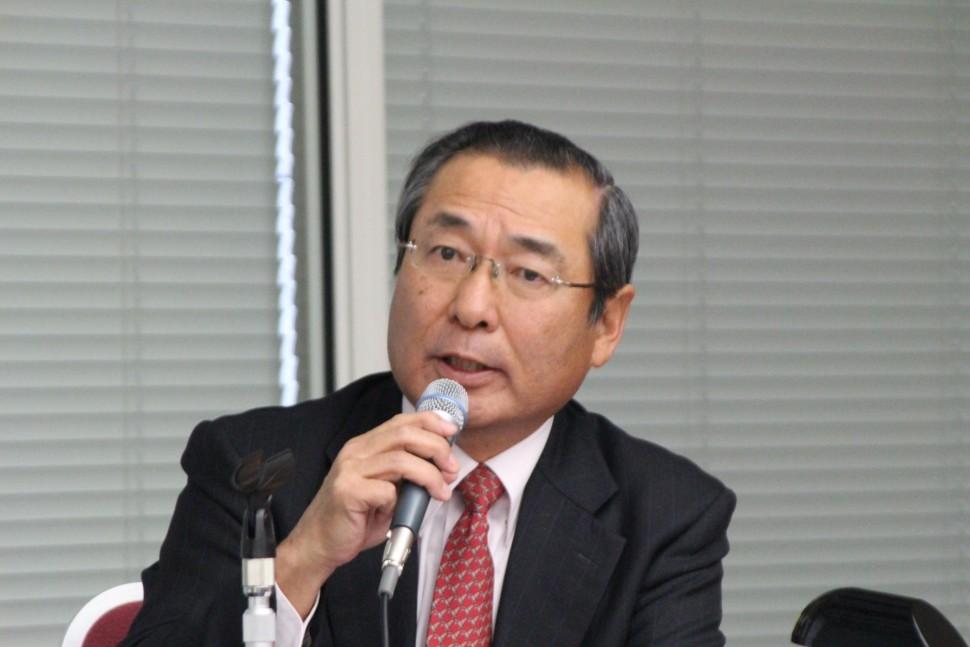 需要予測を説明する藤岡会長