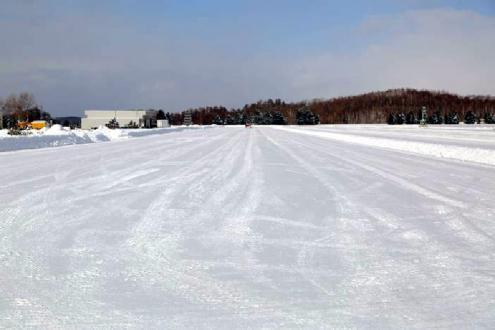 総合圧雪路