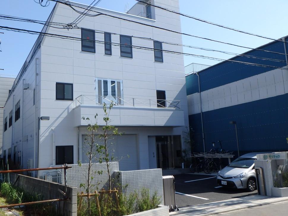 稼働を開始したモリテック東京支社新工場