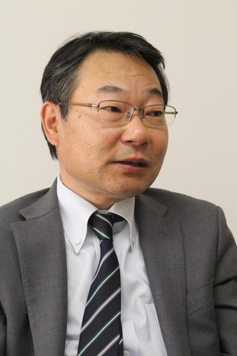 営業戦略を語る千田事業部長
