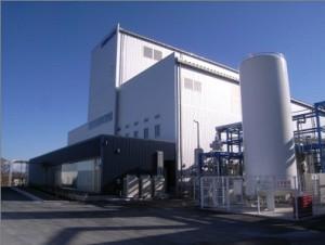 国内唯一の食品添加物専用の合成炭酸カルシウム工場