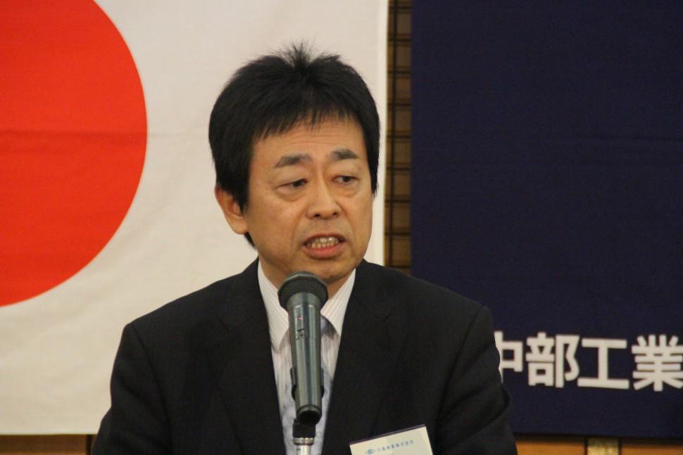 再任した川島理事長