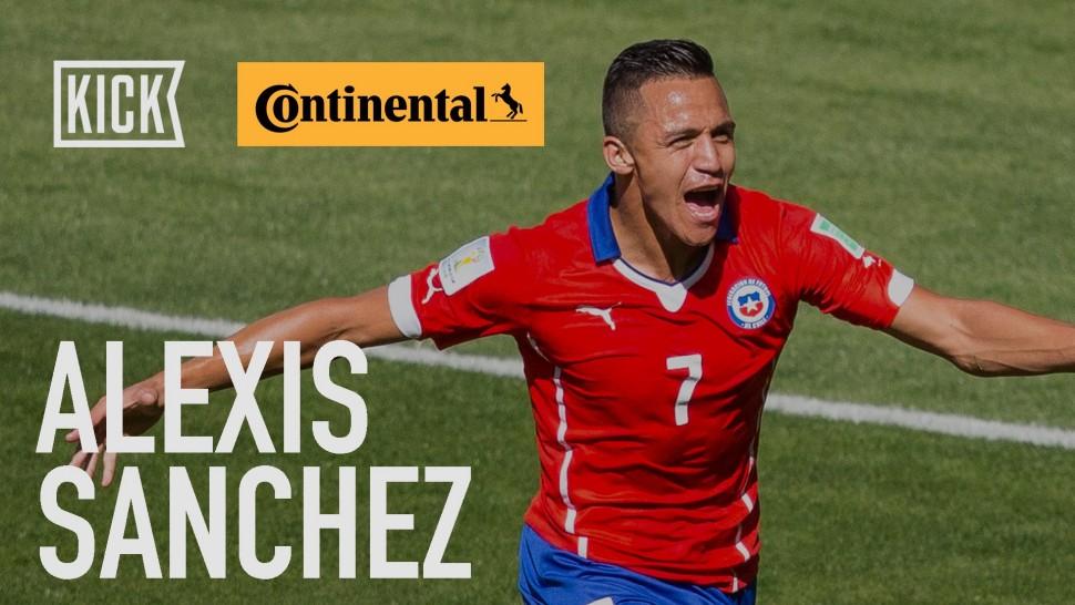 【動画】コンチネンタルタイヤ Chile Key Player: Alexis Sanchez