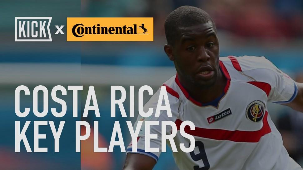 【動画】コンチネンタルタイヤ Costa Rica Key Players: Joel Campbell, Keylar Navas & Bryan Ruiz