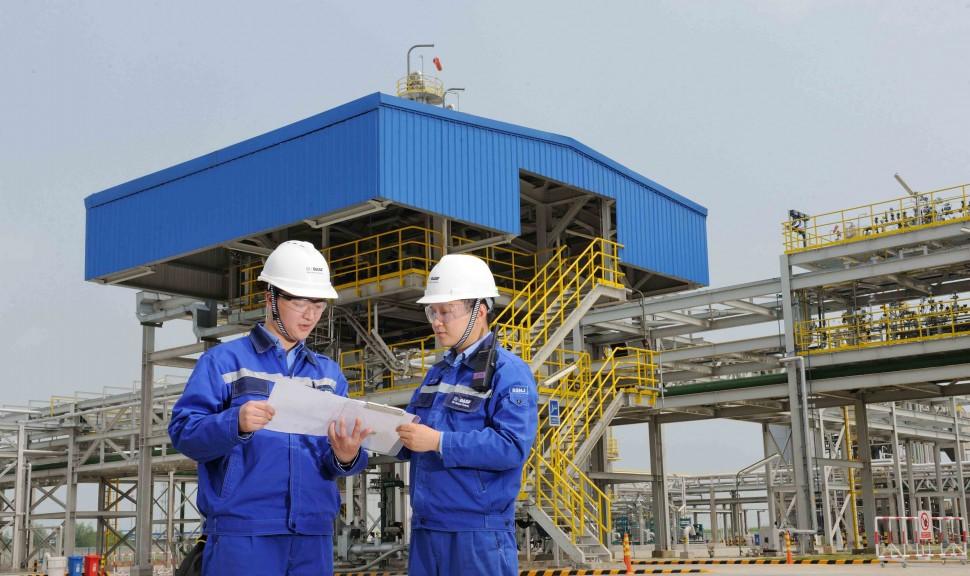 BASFが中国・南京に新設した特殊アミン工場