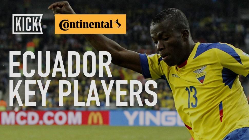 【動画】コンチネンタルタイヤ Ecuador Key Players: Enner Valencia and Antonio Valencia