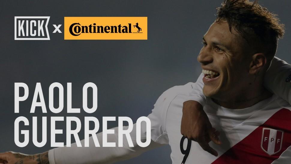 【動画】コンチネンタルタイヤ Peru Key Player: Paolo Guerro