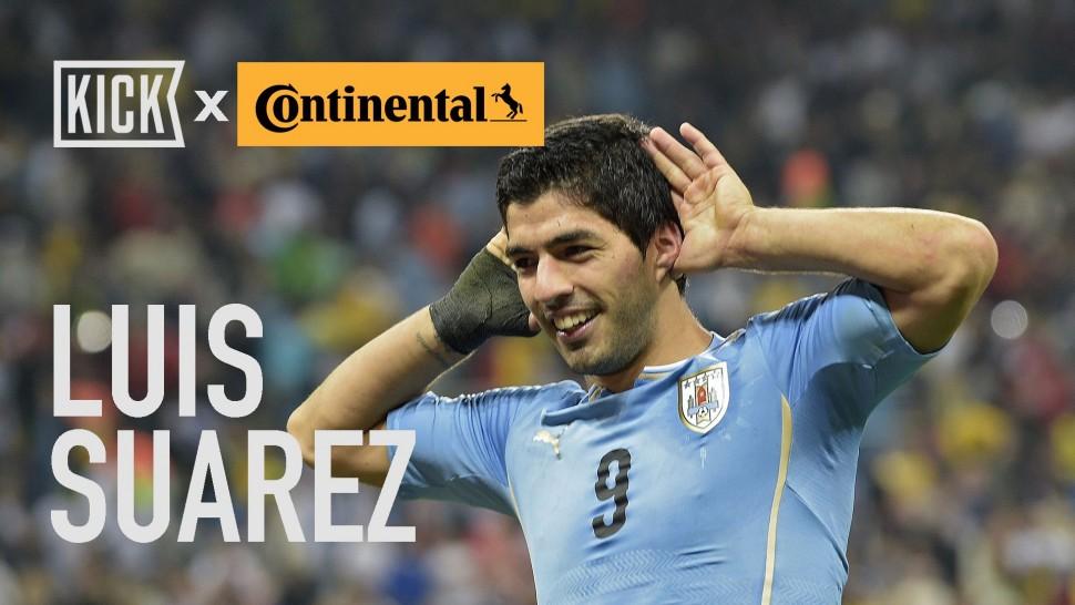 【動画】コンチネンタルタイヤ Uruguay Key Players: Luis Suarez and Edinson Cavani