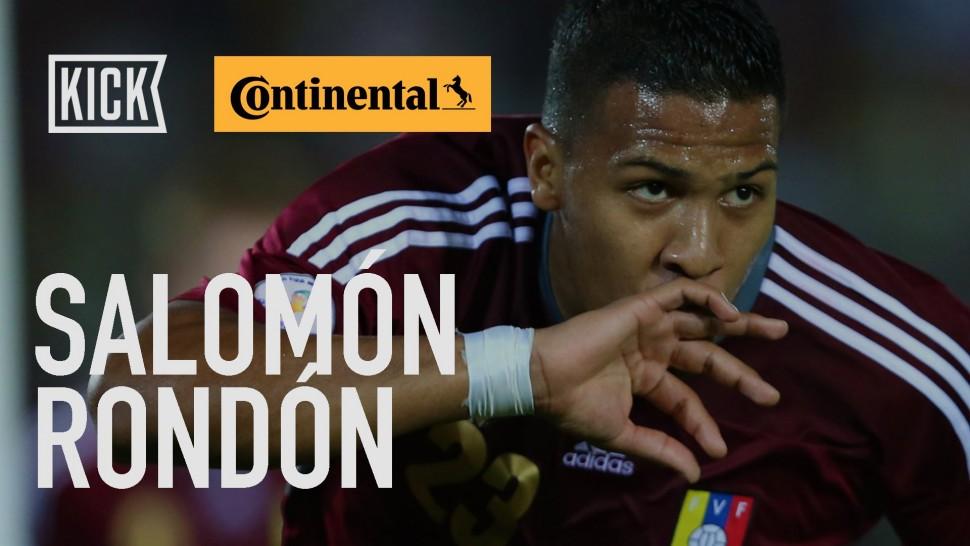【動画】コンチネンタルタイヤ Venezuela Key Player: Salomon Rondon