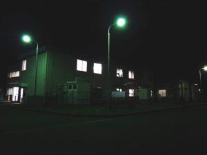 豊橋事業所 2015年の様子 消灯前