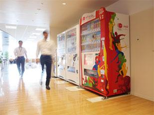 JOCオリンピック支援自販機1