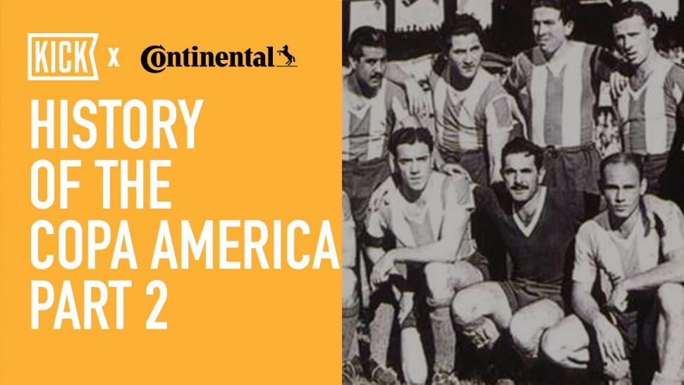 【動画】コンチネンタルタイヤ History of the Copa America Part 2