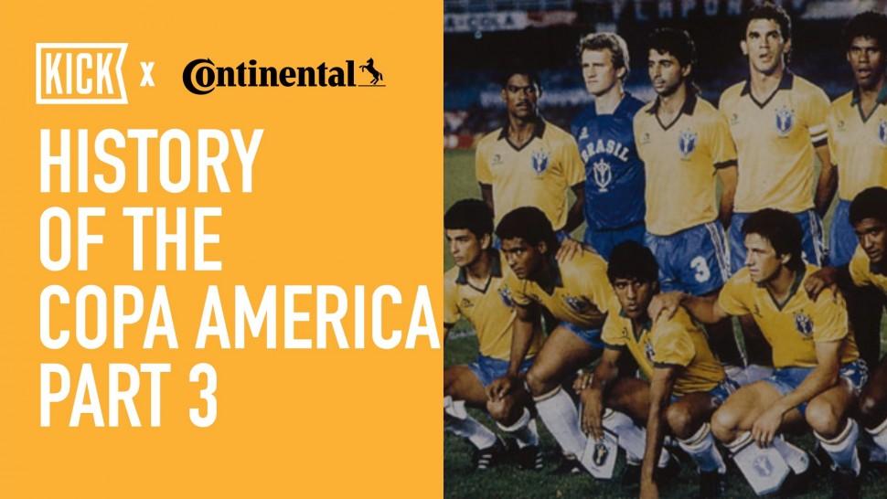 【動画】コンチネンタルタイヤ History of the Copa America Part 3