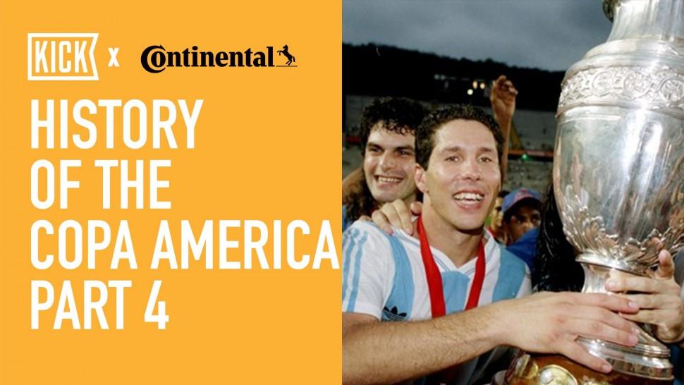 【動画】コンチネンタルタイヤ History of the Copa America Part 4