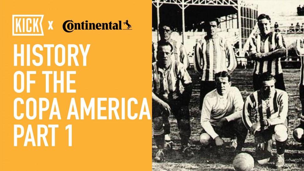 【動画】コンチネンタルタイヤ History Of The Copa America Part 1
