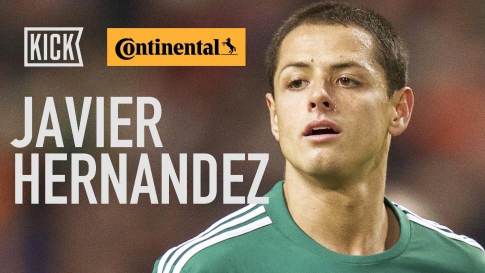 【動画】コンチネンタルタイヤ Mexico Key Player: Javier Hernandez