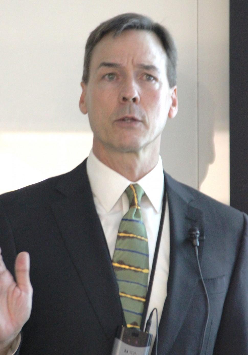 ジョンソン・ライフサイエンス事業部長