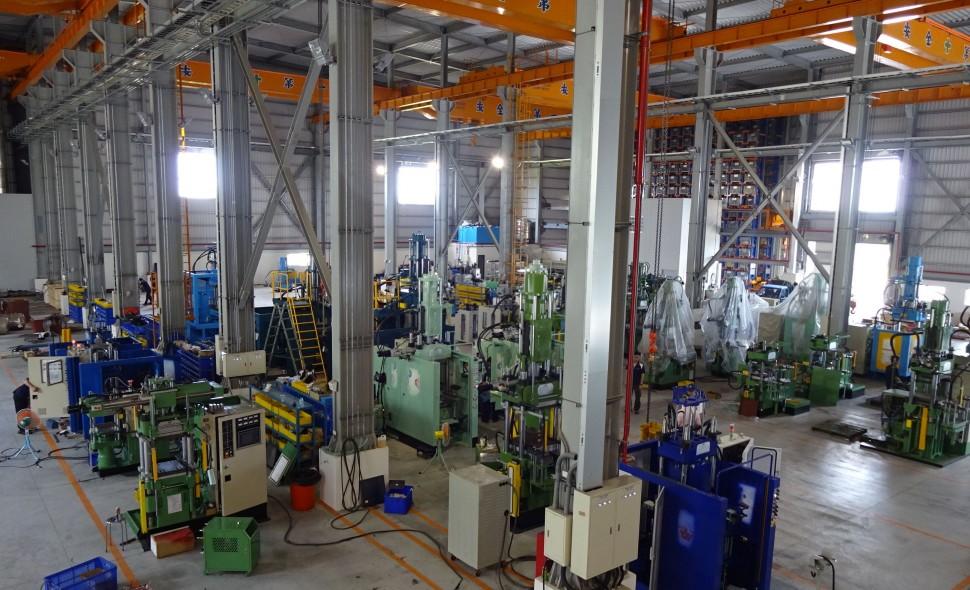 新工場建設で生産能力が倍増した
