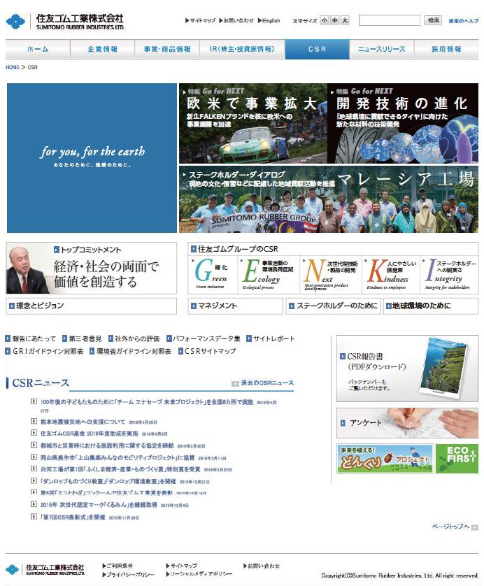 サイトトップ画面