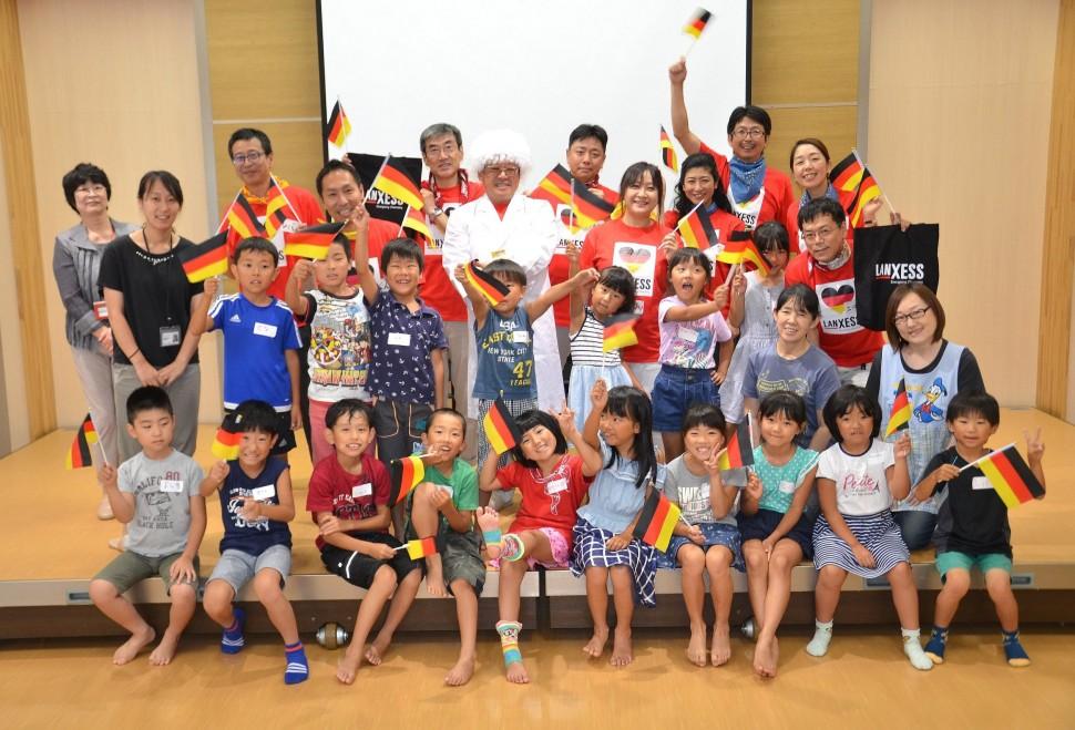東松島市あおぞら(大塩地区)放課後児童クラブでの教室参加者