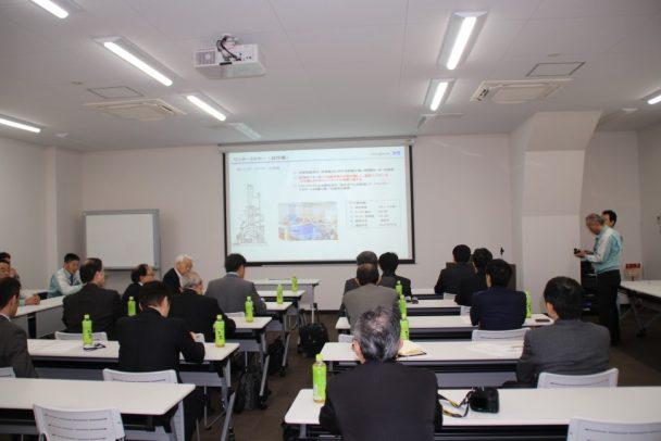 産機モリヤマ事業部から参加者に向けて提案が行われた