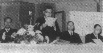 日本合成ゴム設立総会(1957年)