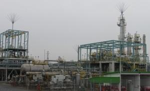 宇部興産のマレーシアBR工場