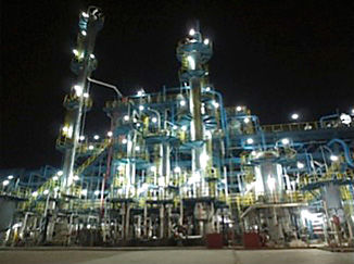 「上海中石化三井弾性体有限公司」(SSME)のEPTプラント